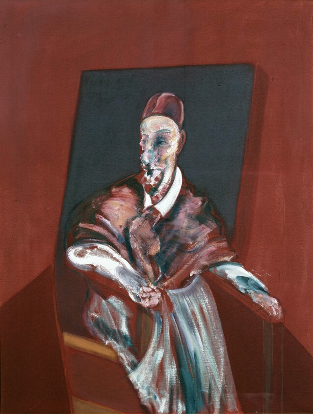 Francis Bacon - Red Cardinal